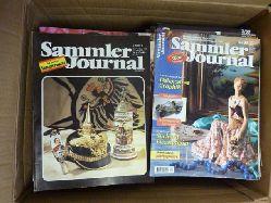 Antiquitäten / Schwend, Emil, später: Agnes (Hrsg.),   Sammler Journal - Magazin (vorher: Monatszeitschrift) für Sammler und Antiquitätenfreunde, Konvolut von 73 Heften zwischen 1981 und 2000,