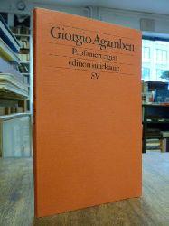 Agamben, Giorgio,  Profanierungen, aus dem Italienischen von Marianne Schneider,