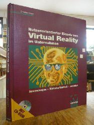 Bauer, Christian,  Nutzenorientierter Einsatz von Virtual Reality im Unternehmen - Anwendungen, Wirtschaftlichkeit, Anbieter, (ohne die CD-ROM),