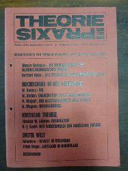 Adorno, Theodor W. / Verband Sozialistischer Studenten Österreichs (Hrsg.),  Resignation, (S. 43-44) in: Theorie und Praxis - Zeitschrift für sozialistische Theorie,4. Jahrgang, Heft 1, September/Oktober 1969,