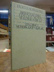 Fichte - Schelling (Johann Gottlieb Fichte / Friedrich Wilhelm Joseph von Schelling)  Briefwechsel, Einleitung von Walter Schulz,