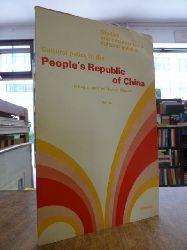 China / Bai, Liu,  Cultural Policy in the People