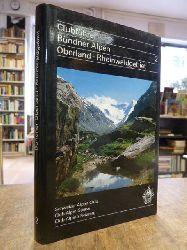 Europa / Schweiz / Schweizer Alpenclub (Hrsg.),  [Clubführer] Bündner-Alpen, Band II (2): Bündner Oberland und Rheinwaldgebiet [1981], überarbeitet von Dr. Bernard Condrau und Mitgliedern der Sektion Piz Terri SAC,