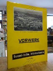 Vorwerk (Wuppertal),  Gummi-techn. Informationen [1967],