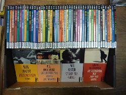 Rowohlt,   50 Jahre Rowohlt Rotations Romane - 50 Taschenbücher im Jubiläumsformat, 50 Bände (= so komplett), einmalige Ausgabe,
