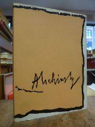 Alechinsky, Pierre,  Pierre Alechinsky : Gemälde 1958-1968 Ausstellung Kunsthalle Bremen, 5. Juni bis 13. Juli 1969,