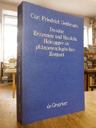 Heidegger, Martin / Gethmann, Carl Friedrich,  Dasein: Erkennen und Handeln - Heidegger im phänomenologischen Kontext,