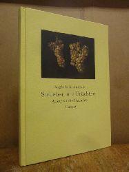 Andrade, Eugénio de,  Stilleben mit Früchten - Ausgewählte Gedichte, aus dem Portugisischen übertragen und mit einem Nachwort versehen von Curt Meyer-Clason,