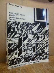 Jacobs, Jane,  Tod und Leben grosser amerikanischer Städte, übersetzt von Eva Gärtner,
