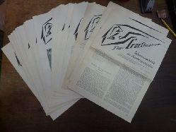 """Allgeine Anthroposophische Gesellschaft (Hrsg.),  Konvolut von 22 Heften """"Das Goetheanum - Wochenschrift für Anthroposophie"""", 1993-1996,"""