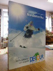 Schrahe, Christoph,  Ski Guide Nordamerika: Mit Infos zu Heliskiing & Snowboarding und detaillierten Pistenplänen. 100 Skigebiete - Skikompass - Service von A - Z,