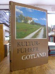 Jonsson, Marita + Lindquist, Sven-Olof (Text),   Schweden / Gotland / Kulturführer Gotland, Photos Raymond Hejström, übersetzt Ingrid u. Robert Bohn,