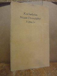 Darmstadt / Prinz Ludwig von Hessen / Illgen, Gudrun,  Kostbarkeiten Hessen-Darmstädter Hofmaler (signiert),