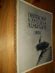 Weiss, Karl (Hrsg.):  Deutscher Kamera-Almanach. Ein Jahrbuch fur die Photographie unserer Zeit. 28. Band 1938.