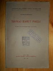 Castelli, Alberto:  THOMAS HARDY POETA - SAGGIO D`INTERPRETAZIONE.