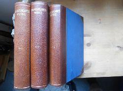 Shakespeare, William:  Shakespeares Werke in fünfzehn Teilen. (= Bongs Goldene Klassiker-Bibliothek, Halbleder-Ausgabe), Teil 5-7; Teil 8-11; Teil 12-14 = 3 Bände) (zus. EURO 12,00 u. Porto EURO 7,70) Einzelpreis: