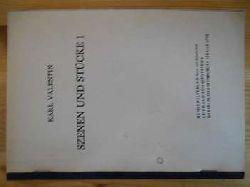 Valentin, Karl:  Szenen und Stücke 1. (15 Stücke) (= Abteilung Bühnenvertrieb) (Bühnenmanuskript)