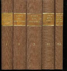 Burkhardt, Gustav Emil: G. E. Burkhardt's Kleine Missions-Bibliothek. [4 Bände in 5 Bänden]. 2. Auflage, gänzlich umgearbeitet und bis auf die Gegenwart fortgeführt von Dr. R. Grundemann.