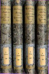 Lamartine,  Alphonse de: Histoire des Girondins. Volume I-IV. 5e ed. [Cinquième edition].