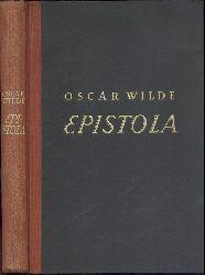 Wilde, Oscar  Epistola in carcere et vinculis. Übers. v. Max Meyerfeld. 2.-6. Auflage.