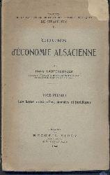 Laufenburger, Henry  Cours d