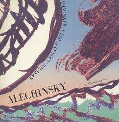 Alechinsky, Pierre - Haenlein, Carl (Hrsg.)  Pierre Alechinsky. Bilder, Aquarelle, Zeichnungen. Eine Retrospektive. Ausstellungskatalog. Hrsg. v. Carl Haenlein.