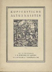 Boerner, C.G.  Versteigerungskatalog 189: Kupferstiche Alter Meister. Kupferstiche, Radierungen und Holzschnitte des XVI.-XVIII. Jahrhunderts.