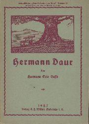 Daur, Hermann - Busse, Hermann Eris  Hermann Daur. 2. wesentlich erweiterte Auflage.