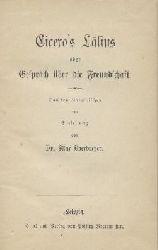 Cicero, M. Tullius - Oberbreyer, Max (Hrsg.)  Cicero