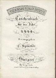 Spindler, Carl (Hrsg.)  Vergissmeinnicht. Vergiss mein nicht. Taschenbuch für das Jahr 1835. 6. Jahrgang. Hrsg. v. C. Spindler.