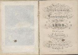 Spindler, Carl (Hrsg.)  Vergiss mein nicht. Vergissmeinnicht. Taschenbuch für das Jahr 1838. 9. Jahrgang. Hrsg. v. C. Spindler.