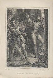 Spindler, Carl (Hrsg.)  Vergiss mein nicht. Vergissmeinnicht. Taschenbuch für das Jahr 1840. 11. Jahrgang. Hrsg. v. C. Spindler.