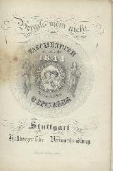 Spindler, Carl (Hrsg.)  Vergiss mein nicht. Vergissmeinnicht. Taschenbuch für das Jahr 1841. 12. Jahrgang. Hrsg. v. C. Spindler.