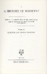 Sigerist, Henry E.  A History of Medicine. Prefaces by John F. Fulton. 2 vol.