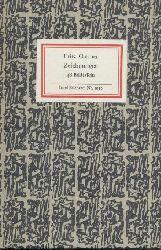 Cremer, Fritz  Zeichnungen. Hrsg. u. Nachwort von Dieter Schmidt.