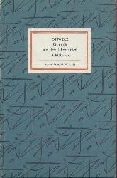 Dix, Otto  Otto Dix. Graphik aus fünf Jahrzehnten. Hrsg. u. Nachwort von Fritz Löffler.