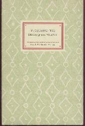 Tschuang-Tse  Dichtung und Wahrheit. Aus dem chinesischen Urtext übersetzt von Hans O. H. Stange. 31.-37. Tsd.