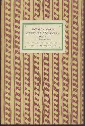 Garcia Lorca, Federico  Zigeuner-Romanzen. Deutsch von Enrique Beck.