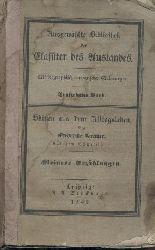 Bremer, Frederike (Fredrika - Friederike)  Skizzen aus dem Alltagsleben. Kleinere Erzählungen. Aus dem Schwedischen.