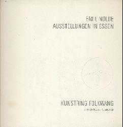 Nolde, Emil - Klein, Käthe (Hrsg.)  Emil Nolde. Ausstellungen in Essen. Den Mitgliedern des Kunstringes Folkwang zum Jahreswechsel 1967/68 überreicht.