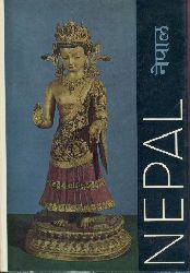 Waldschmidt, Ernst u. Rose Leonore (Katalog)  Nepal. Kunst aus dem Königreich im Himalaja. Ausstellungskatalog.