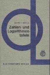 Schärf, Julius u. Helmut Wörle  Zahlen- und Logarithmentafeln. 6. Auflage.