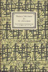 Göpel, Erhard (Hrsg.)  Deutsche Holzschnitte des XX. Jahrhunderts.