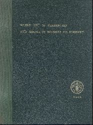 Osara, Nils Arthur (Ed.)  World List of Periodicals and Series of Interest to Forestry (complete version, 1960-1964).