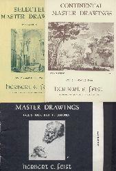 Feist, Herbert E. (Ed.)  7 Ausstellungskataloge / Catalogues.