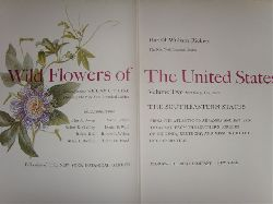 Rickett, Harold William  Wild Flowers of the United States. Band 2: The Southeastern States from the Atlantic to Arkansas and Eastern Texas and from the Southern Borders of Virginia, Kentucky and Missouri to the Gulf of Mexico. Hrsg. v. W. C. Steere. 2 Bände.