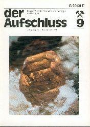 Der Aufschluss. Zeitschrift für die Freunde der Mineralogie und Geologie. Jg. 27, H. 1, 7/8, 9, 11, 12 (von 11).