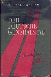 Görlitz, Walter  Der deutsche Generalstab. Geschichte und Gestalt. 2. gekürzte Ausgabe.