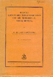 Ladenburg, Rudolf  Plancks elementares Wirkungsquantum und die Methoden zu seiner Messung.