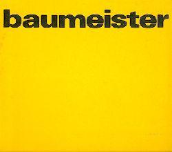 Adriani, Götz (Hrsg.)  Willi Baumeister. Gemälde. Ausstellungskatalog.